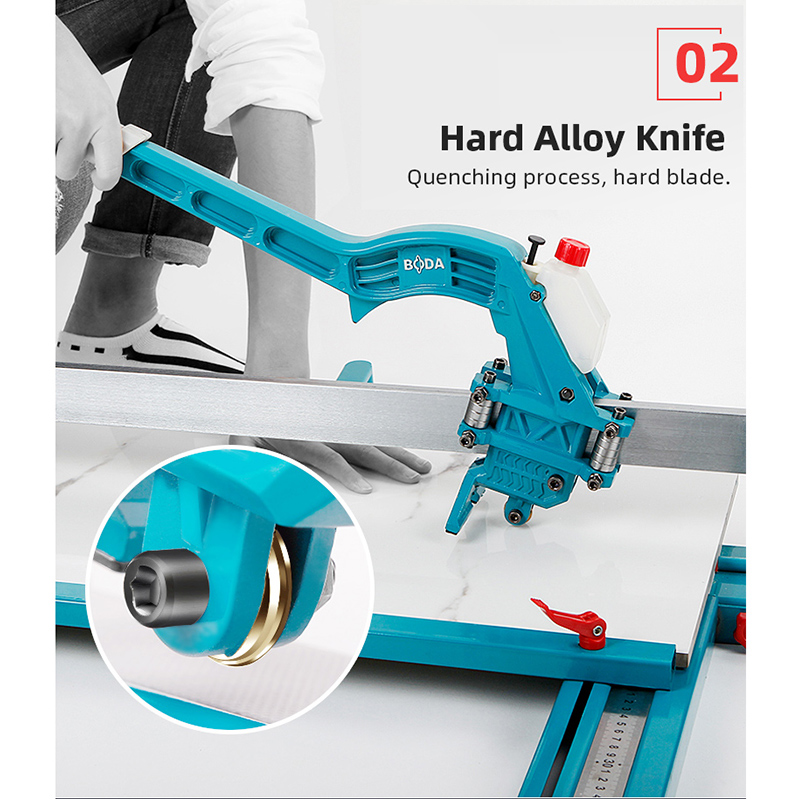 Tools : High Precision Laser Infrared Manual Tile Cutter Tile Push Knife Cutting Tool 1200mm Floor Wall Tile Cutter Cutting Knife 6-15mm