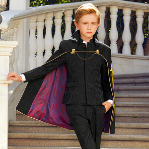Image 3 - Suit To Boy Elegant Boys Suits For Weddings Party Costume Enfant Garcon Mariage Brothers Of The Groom Dresses Conjunto Menino