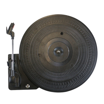 28Cm ABS Turntable 33/45/78Rpm Automatic Straight Arm Return Record Player Turntable Gramophone for Lp Vinyl Record Player