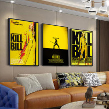 Wall Art Canvas Kill Bill Vol.1 Poster And Prints Canvas Painting Pictures On The Wall Classic Decorative Home Decor Obrazy
