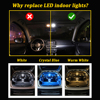 BMTxms Canbus No Error Auto LED Interior Map Dome Trunk License Plate lamp light Kit For Dodge Grand Caravan 1996-2020 3