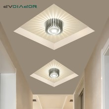 Art Novelty Colorful LED Downlight Surface Mounted Recessed Round LED Ceiling Lamp AC220V 110V Creative Decor indoor lighting cheap DVOLADOR Knob switch 90-260V Modern Ceiling lamp Foyer ROHS 1 YEAR Light Grey Aluminum