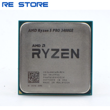 Amd Ryzen 5 Pro 3400GE R5 Pro 3400GE 3.3Ghz Quad-Core Acht-Draad 35W Cpu Processor YD340BC6M4MFH Socket AM4