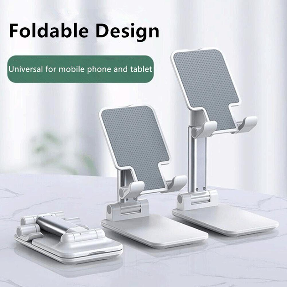 Adjustable Cell Phone Desk Stand Holder Portable Universal Folding Mobile Phone Mount Cradle Bracket Under 9.7 Inch For IPad