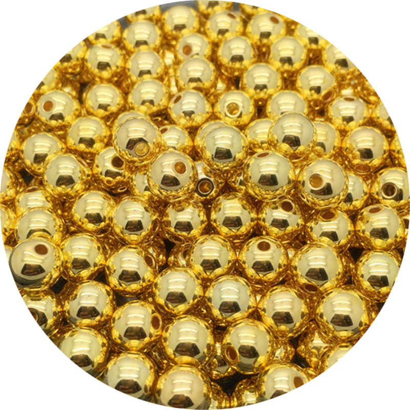 4/6/8/10mm akrylowe koraliki dystansowe imitacje pereł okrągłe luźne koraliki do wyrobu biżuterii do ubrania diy perły koraliki