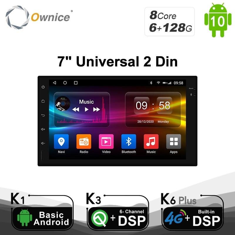 Ownice K1 K2 K3 Octa 8 ядерный Android 2G ram 32GB rom поддержка 4G LTE SIM сетевой Автомобильный gps 2 din универсальный автомобильный Радио dvd-плеер