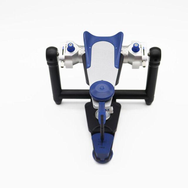 Стоматологический лабораторный шарнирный аппарат типа amann girrbach artex cr, полностью регулируемые лицевые банты