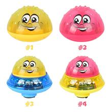 Bubble-Toys Led-Light Baby Water-Spray-Ball Bath with Musical-Fountain-Toy 2-In-1/abs