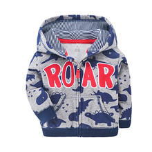 New casual Baby Boys Girls Hooded Sweatshirts Cotton Cartoon Tops Truck Rainbow Whale Outwear Kids Clothes For 9m-3years