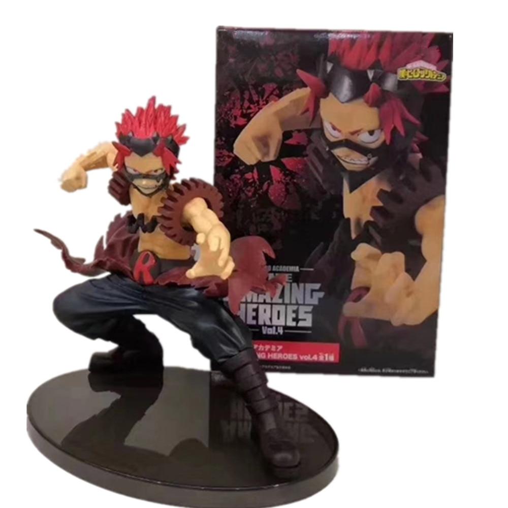 Boku No Hero Academia Kirishima Eijiro Action Figures Toy 130mm My Hero Academia Anime Figurine The Amazing Heroes Toys Diorama