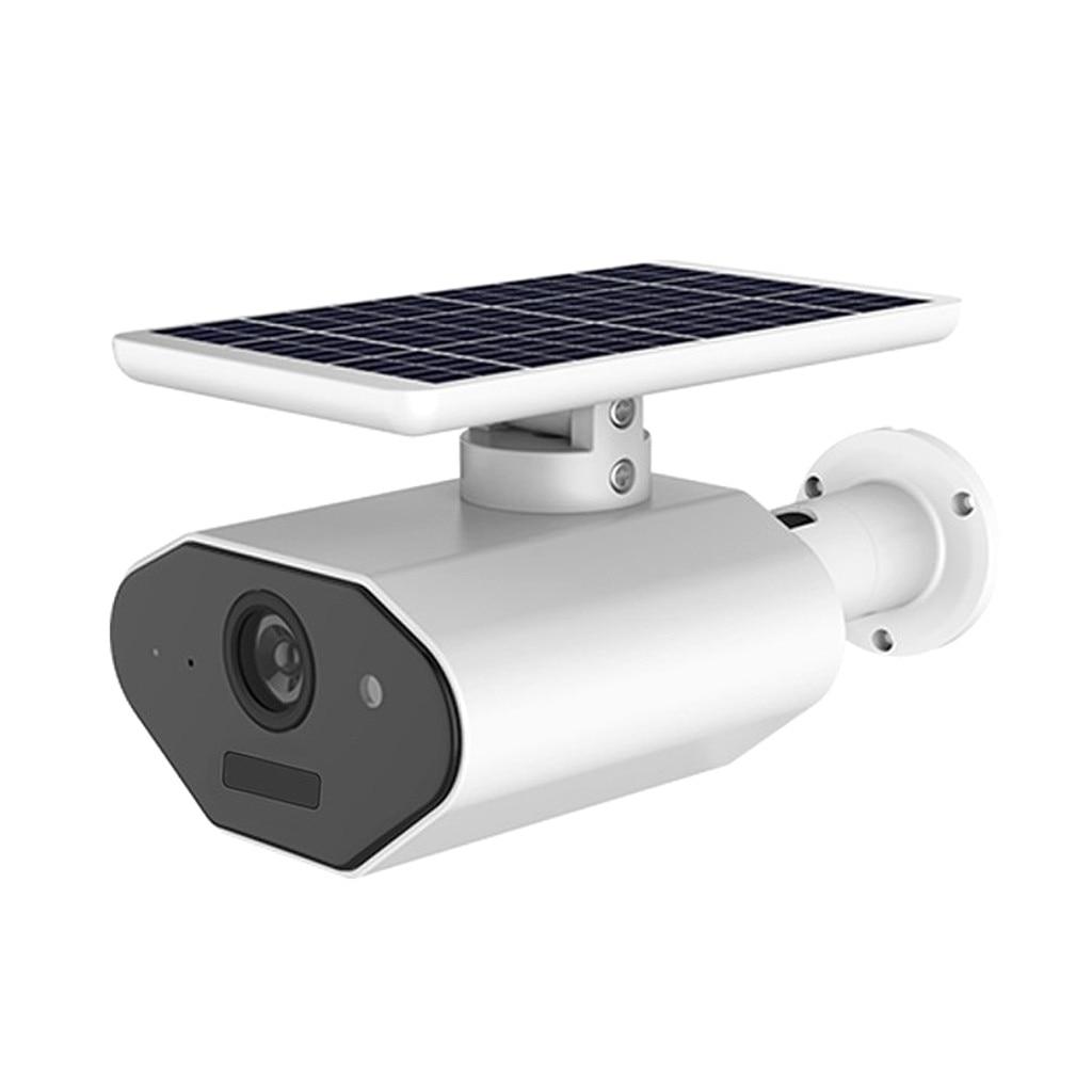 Caméra réseau sans fil solaire 1080p étanche à faible puissance avec application Mobile iP66 résistant aux intempéries 6 pièces lumière infrarouge micro SD