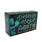 OPHIR Airbrush DIY Farbe Modell Acryl Farbe Airbrush DIY Acryl Pigment Tinte für Modell Schuhe Leder Malerei TA005 - 3