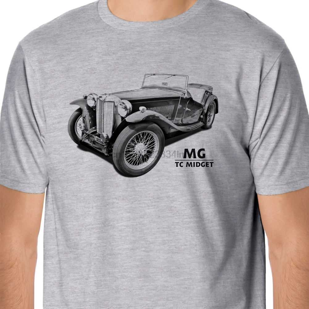 2019 Panas Dijual 100% Katun Klasik MG TC Cebol T-shirt Musim Panas T-shirt