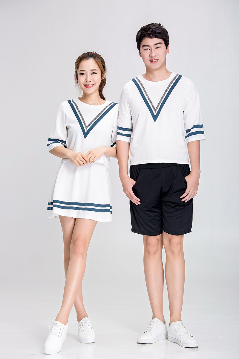Code Division Photo Shoot New Style Men And Women Cheerleading Clothing Adult Cheerleading Dance Game Costume Leisure Suit