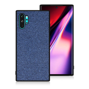 Galaxy Note 10 Plus Fabric Back Cover