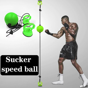 Gym Sports Boxing Speed Training Ball Adult Boxing Punch Exercise Fight Ball with Head Band Equipment for Reflex Speed Training
