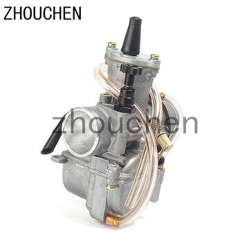 Carburador Universal para motocicleta 2T 4T Koso 28 30 32 34mm con Power Jet para Moto de carreras