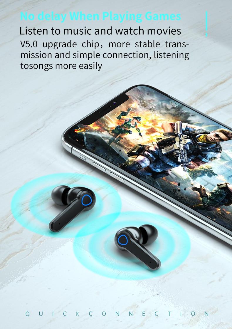 M19 TWS Bluetooth Earbuds 9