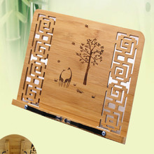 Copybook-Holder Book-Stand Reading-Rack Wooden Folding Bamboo Adult Chinese-Calligraphy