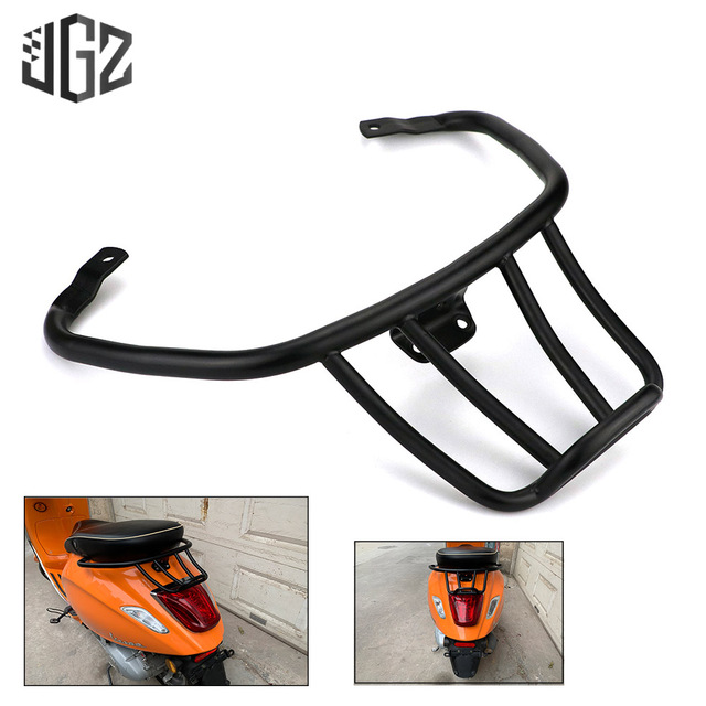 Motorcycle Aluminum Luggage Rack Book Shelf Sports Rear Bracket Tail Support Holder for VESPA PRIMAVERA SPRINT 150 Accessories