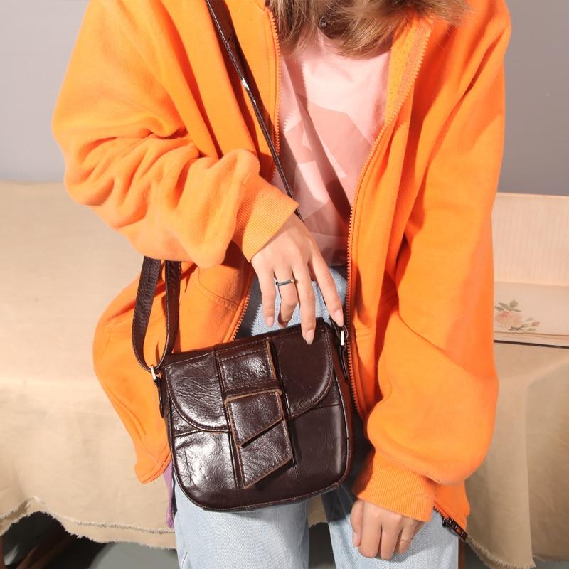 Image 2 - Cobbler 전설 저렴한 여성 가방 핸드백 여성 정품 가죽 디자이너 가방 여성 유명 브랜드 2019 호보 가방 여성용-에서숄더 백부터 수화물 & 가방 의