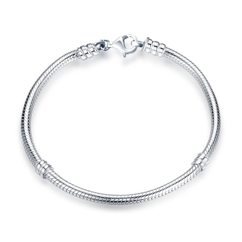 Authentique Argent Sterling 925 Mignon bovins Charm Bead Fit Bracelet//Collier 2019