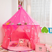 Children Princess Castle Play Tent Kids Game Tent House Portable Playtent Toys for Baby Indoor & Outdoor Play House Toys Pi цена 2017