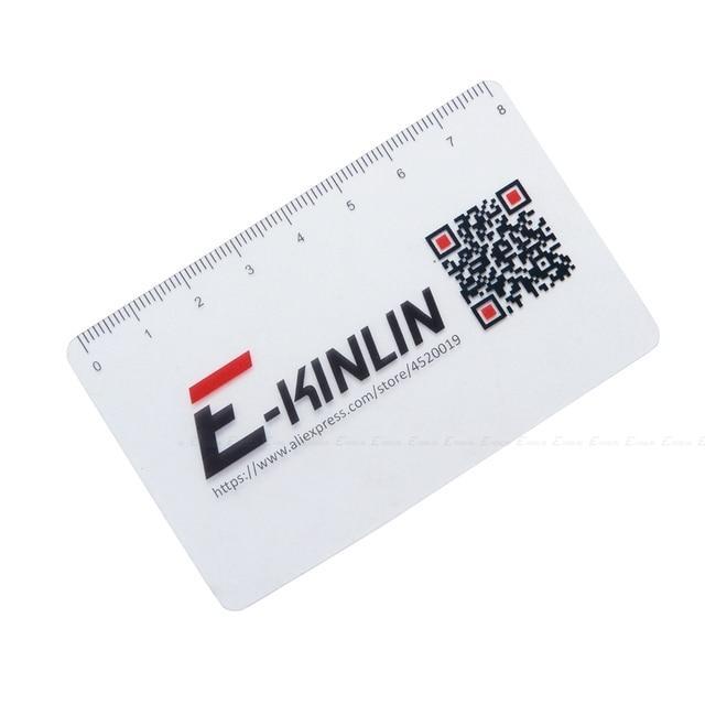 Ruler Plastic Open Mobile Phone LCD Screen Disassembly Teardown Repair Pry Opening Tool Scraper Measuring Business Tools Card 2