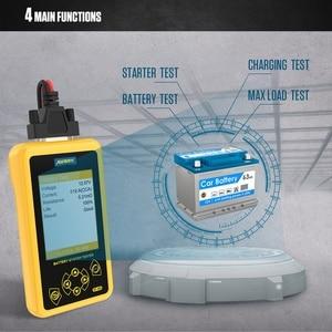 Image 5 - AUTOOL BT460 רכב סוללה בודק 12V 24V רכב סוללות ניתוח מטר רכב מהיר לסובב טעינה אבחון כלי PK KW600