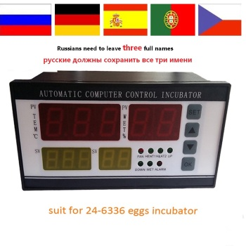 XM-18 incubator Controller thermostat Full automatic and multifunction egg incubator control system for sale RU house 1