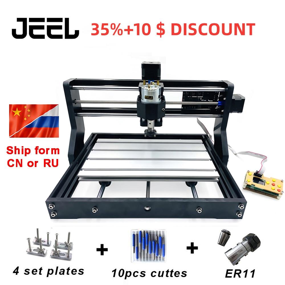 DIY CNC 3018 Pro GRBL, 3 Eixo PCB Milling machine, Router De Madeira máquina de Gravação A Laser, máquina de Baquelite CNC3018 Pode Trabalhar Offline