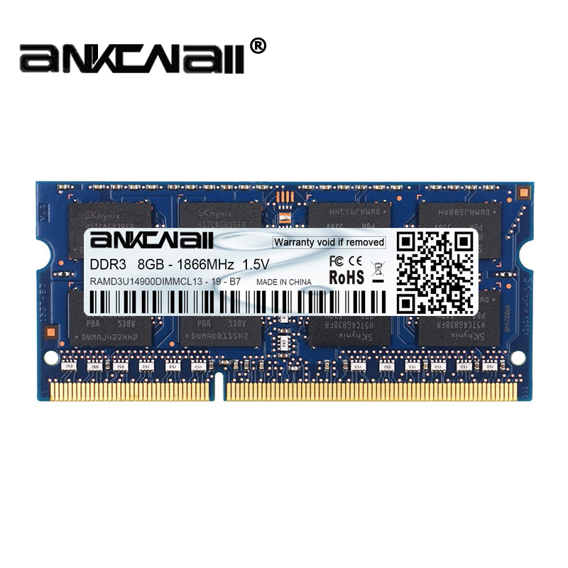 New DDR3L 4GB /8G Laptop RAM Memory For Intel System High Compatible 1