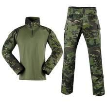 Тактический комбинезон g3 рубашка и брюки наколенники обновленная