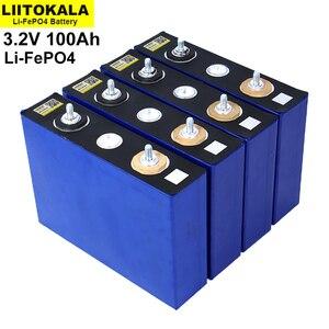 Image 5 - 8 قطعة/الوحدة 3.2V 100Ah بطارية LiFePO4 ليثيوم phospha كبيرة قدرة DIY 12V 24V 48V الكهربائية سيارة RV الشمسية الطاقة تخزين نظام