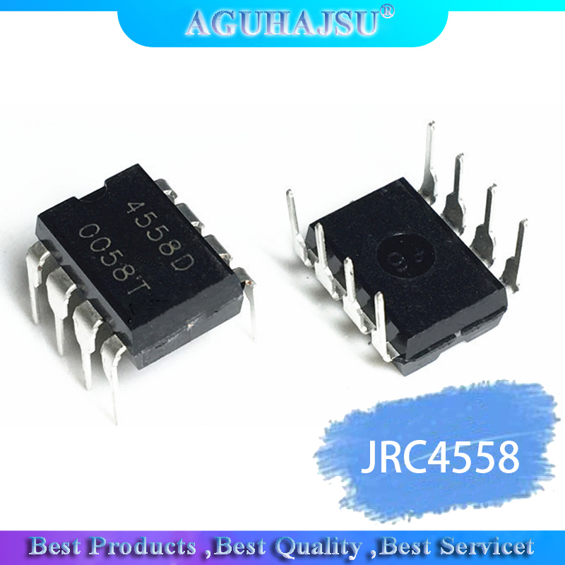 20PCS   IC Chips JRC4558 4558 4558D JRC4558D DIP 8 Original Integrate Circuits-in Integrated Circuits from Electronic Components & Supplies on AliExpress