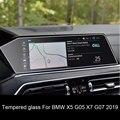 Защитная пленка из закаленного стекла для BMW X5 X6 X7 G05 G06 G07 2019 2020 автомобильная навигация защита экрана приборной панели