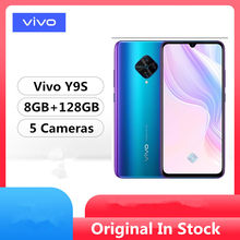 Original vivo y9s 4g lte telefone móvel snapdragon 665 android 9.0 6.38