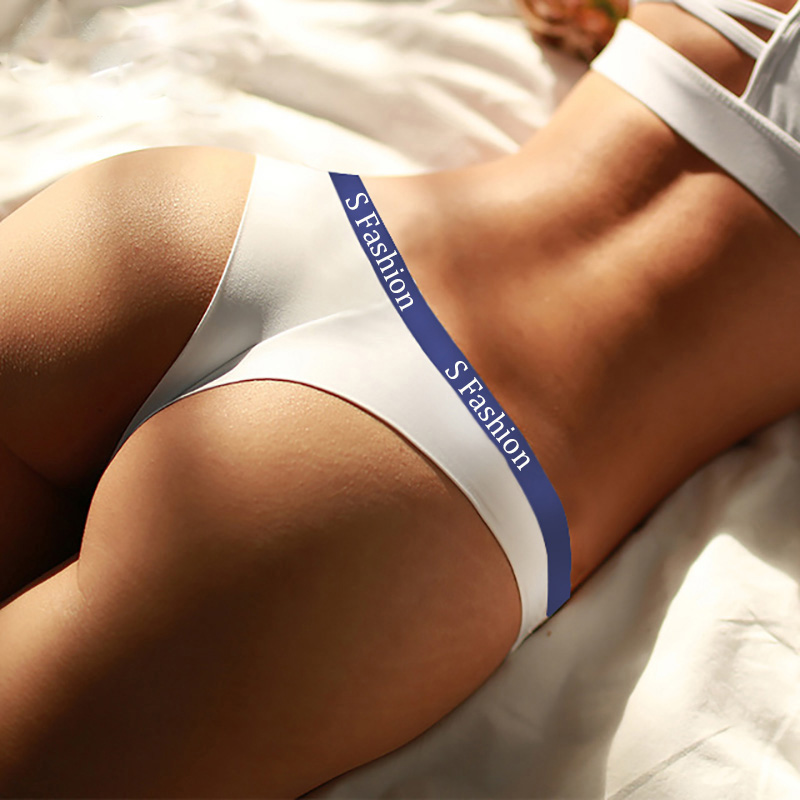 Sexy Cotton Women's G-String Soft Seamless Thong Female   Panty   Underwear Women Lingerie Low Waist Underpants Lady Intimates Tanga