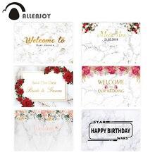 Allenjoy צילום רקע השיש חתונה תינוק מקלחת יילוד רקע פרחים סדר הסימנים יום הולדת מסיבת nphotozone תמונה סטודיו