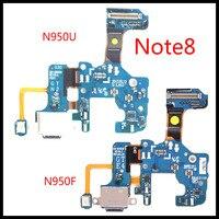 Aaa + + + Originele Voor Samsung Galaxy Note 8 N950U N950F Usb Charger Port Connector Dock Opladen Flex Kabel Vervanging