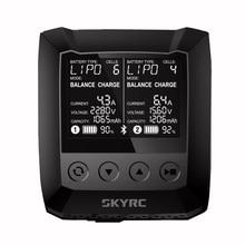 SKYRC B6 Nano Duo 2 x100W 15A Dual AC Balance Charger Discharger Bluetooth APP Control 1-6S LiPo LiIon LiFe LiHV 1-15S NiMH NiCd
