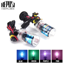 2x 35W 9006 HB4 HID Xenon Bulb xenon fog hid lamp white Purple Pink Green Blue 12V 3000K 4300K 50000K 6000K 8000K 10000K 12000K