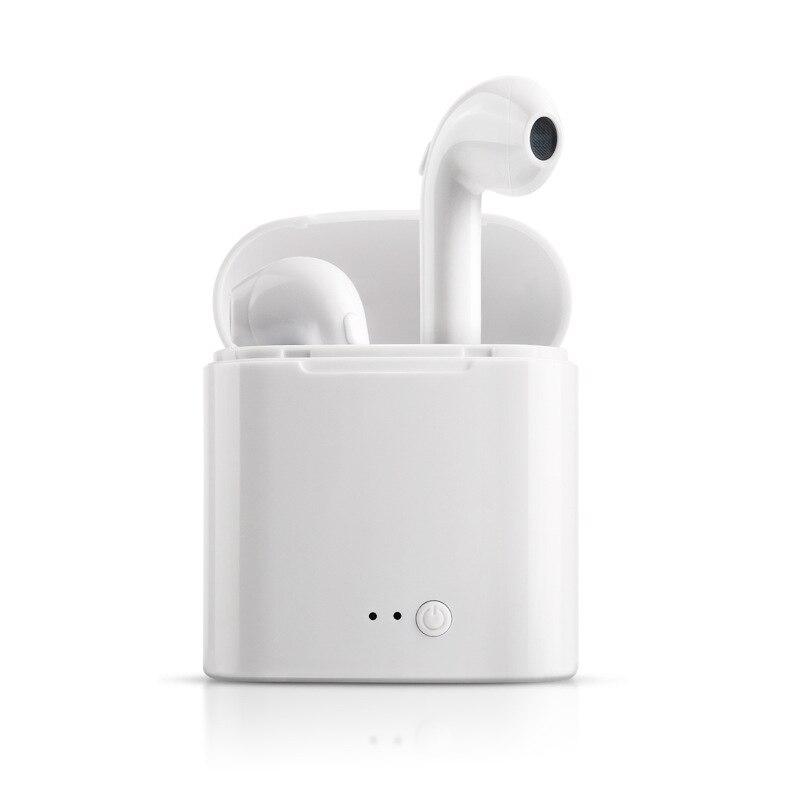I7s Tws беспроводные Bluetooth наушники, мини стерео бас наушники, наушники, Спортивная гарнитура с зарядным устройством для iPhone xiaomi Phone