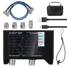 NanoVNA-SAA-2N de pantalla de 4 pulgadas V2 3GHz, analizador de red vectorial de batería de 2,2 MAh, Analizador de antena HF VHF UHF, versión 3000