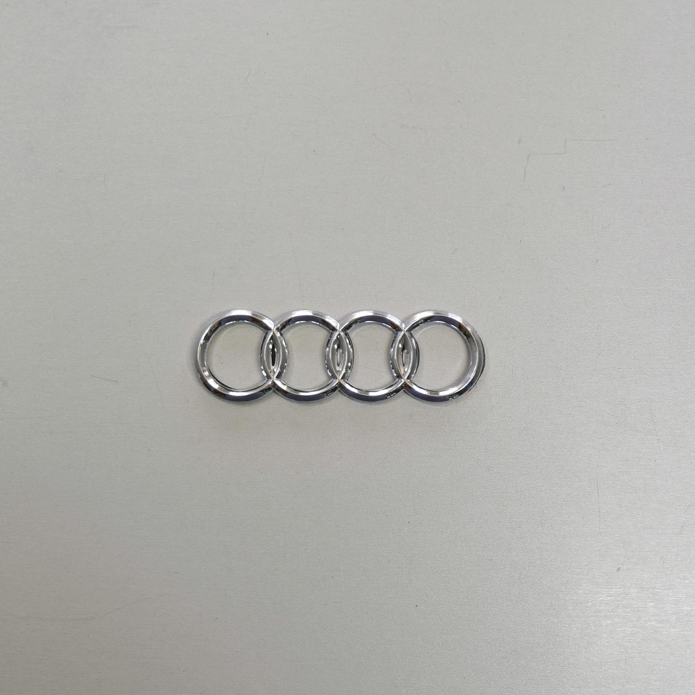 Ауди кольца эмблема логотип значек 13.7х4.5 18х5.8 27.5х9.3