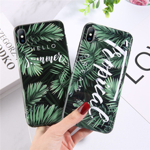Moskado Phone Case Green Cover For iphone XS Max XR X 6 6S 7 8 Plus Shell Soft Silicone Fashion Luxury Shockproof Cases