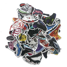 Stickers 100Pcs/Set Basketball Sneakers Pattern Skateboard Motorcycle On Laptop Book Guitar Pusheen Sticker pack