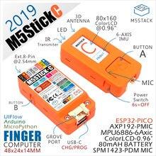 Chegada de novo! 2019 m5stickc esp32 pico mini iot desenvolvimento placa dedo computador com lcd a cores