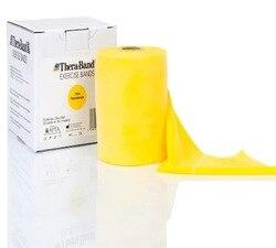 Лента для упражнений Thera-Band, желтая лента для пилатеса, резка 1,5 m, твердость 2 478079035