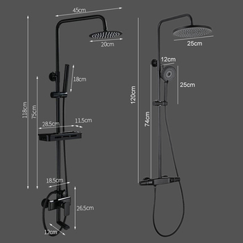 Set of shower faucets 2